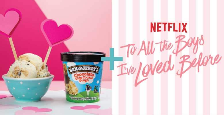 Combina Chocolate Chip Cookie Dough con To All The Boys I've Loved Before
