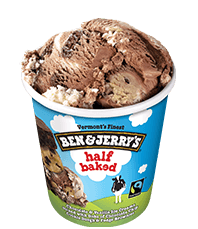 Half Baked® Frozen Yogurt