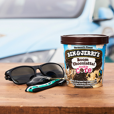 Ben & Jerry's Flavor Relationships - The Test Drive