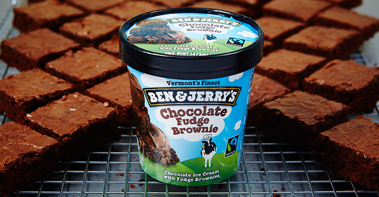 Helado de Chocolate Fudge Brownie de Ben & Jerry's